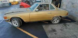 1980 Mercedes sl 450 needs saving For Sale