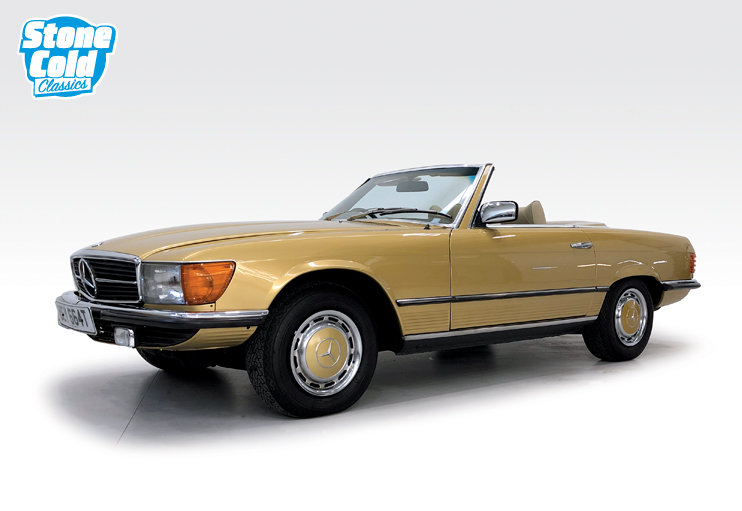 1978 Mercedes 350SL in wonderful condition SOLD (picture 1 of 10)