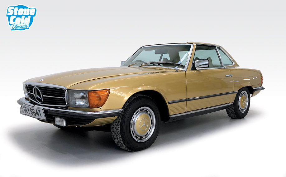1978 Mercedes 350SL in wonderful condition SOLD (picture 4 of 10)