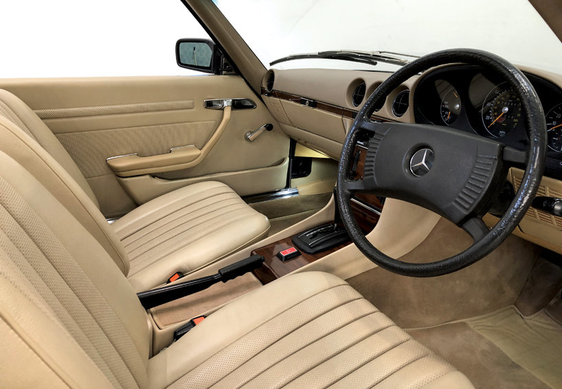 1978 Mercedes 350SL in wonderful condition SOLD (picture 6 of 10)