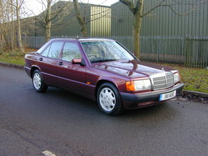 1993 Mercedes Benz W210 190 2.0 LE Ltd Edition Rare Colour UK Car For Sale