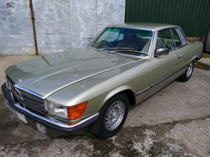 Mercedes 450SLC Coupe 4.5 Litre V8 – 1979T