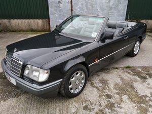 Mercedes E320 Sportline Cabriolet 3.2 litre 6 Cyl – 1994L