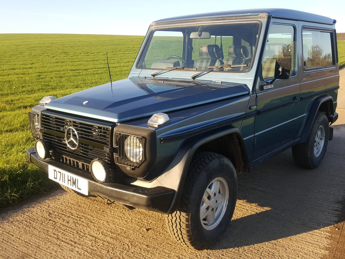 1986 Mercedes 280GE G Wagon Automatic For Sale (picture 1 of 6)