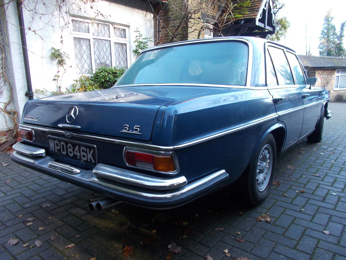 1972 MERCEDES 280SE W108 3.5ltr V8 AUTOMATIC RHD For Sale (picture 3 of 6)