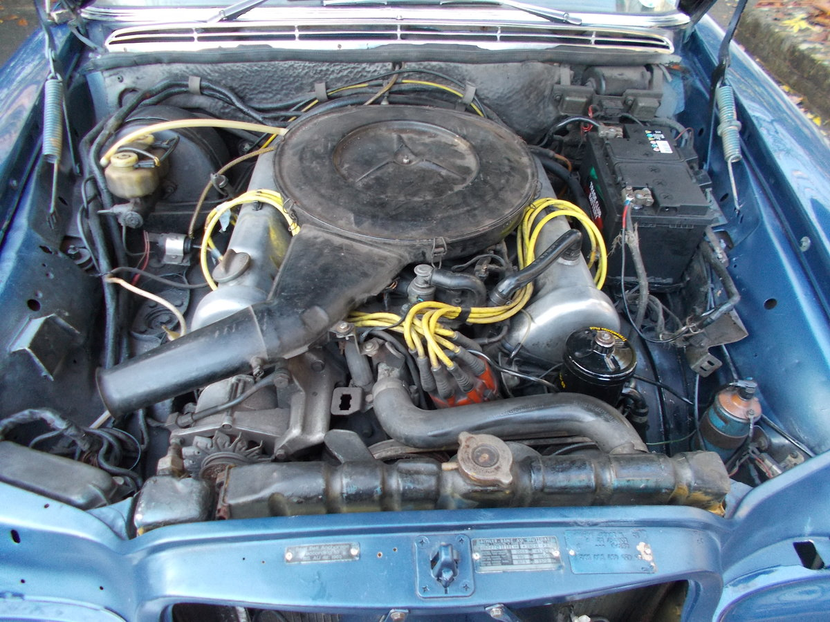 1972 MERCEDES 280SE W108 3.5ltr V8 AUTOMATIC RHD For Sale (picture 6 of 6)