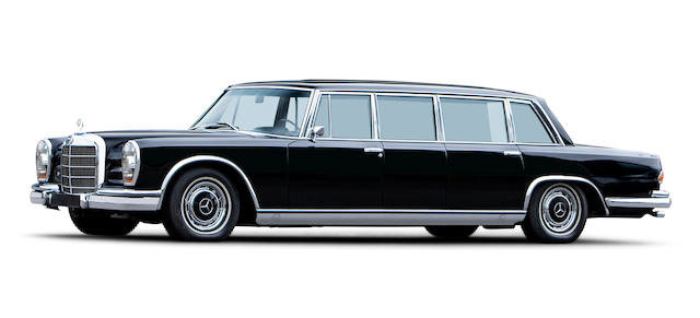 1965 Mercedes-Benz 600 Pullman Saloon For Sale by Auction