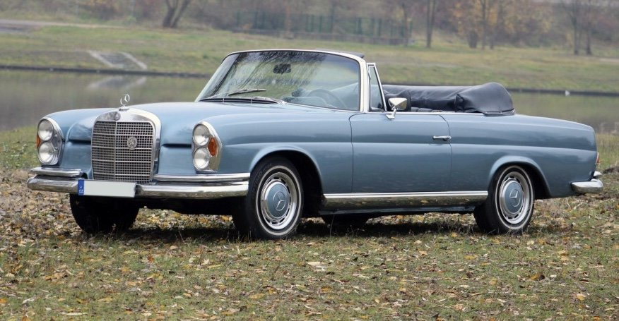 1972 Mercedes Benz 280 SE For Sale (picture 2 of 6)