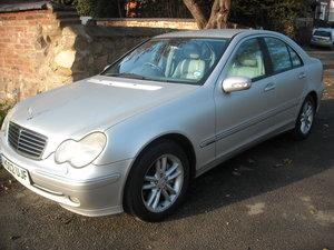 2002 Mercedes c270cdi,total mercedes history Superb For Sale