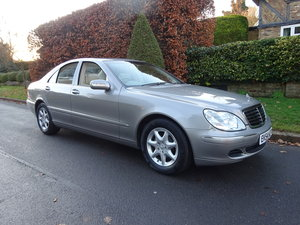 2004 MERCEDES-BENZ S350 (W220) 25,000 miles only For Sale