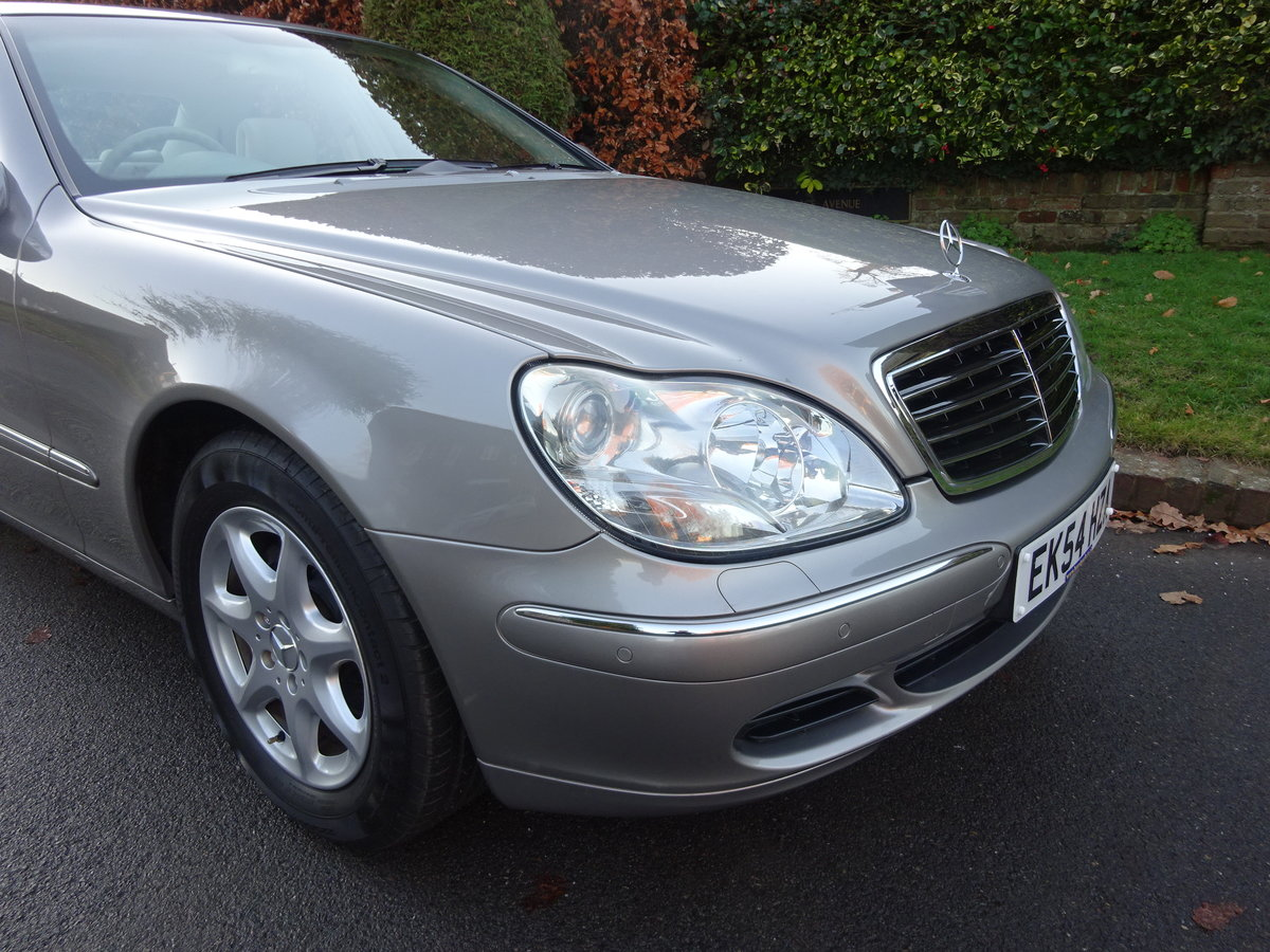 2004 MERCEDES-BENZ S350 (W220) 25,000 miles only For Sale (picture 2 of 6)