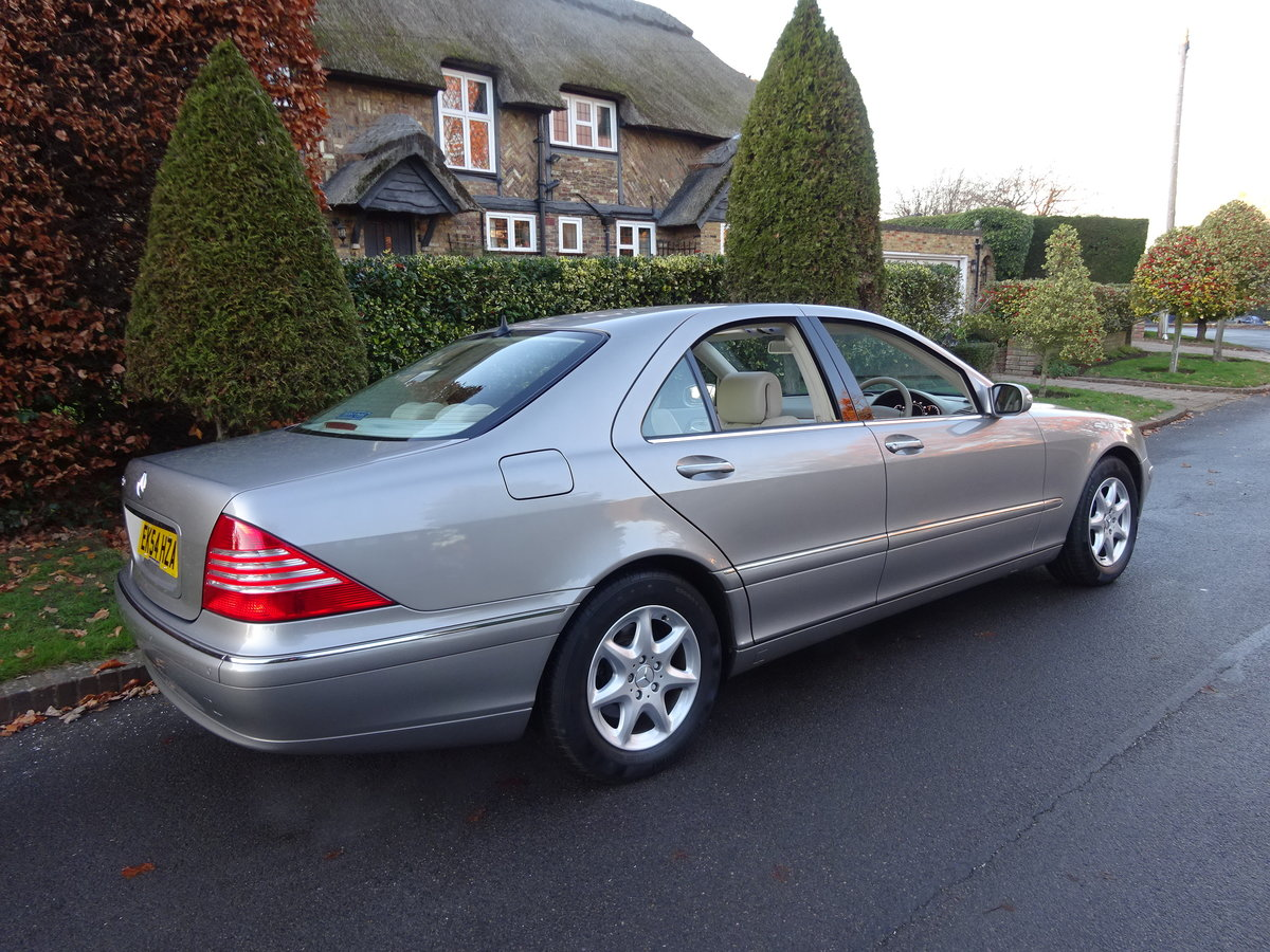 2004 MERCEDES-BENZ S350 (W220) 25,000 miles only For Sale (picture 3 of 6)