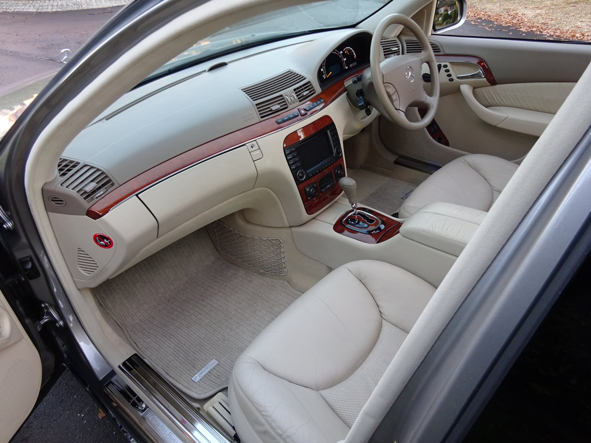 2004 MERCEDES-BENZ S350 (W220) 25,000 miles only For Sale (picture 5 of 6)