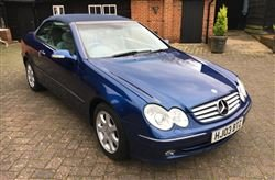 2003 320 CLK Convertible - Tuesday 10th December 2019 For Sale by Auction