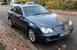 2002 500 CLK Elegance - Tuesday 10th December 2019 For Sale by Auction