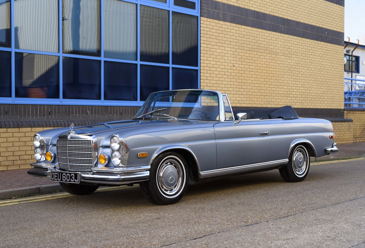 1971 MERCEDES 280SE 3.5 CABRIOLET (LHD) For Sale (picture 1 of 24)