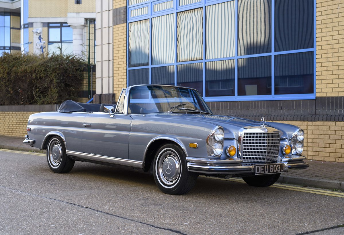 1971 MERCEDES 280SE 3.5 CABRIOLET (LHD) For Sale (picture 2 of 24)