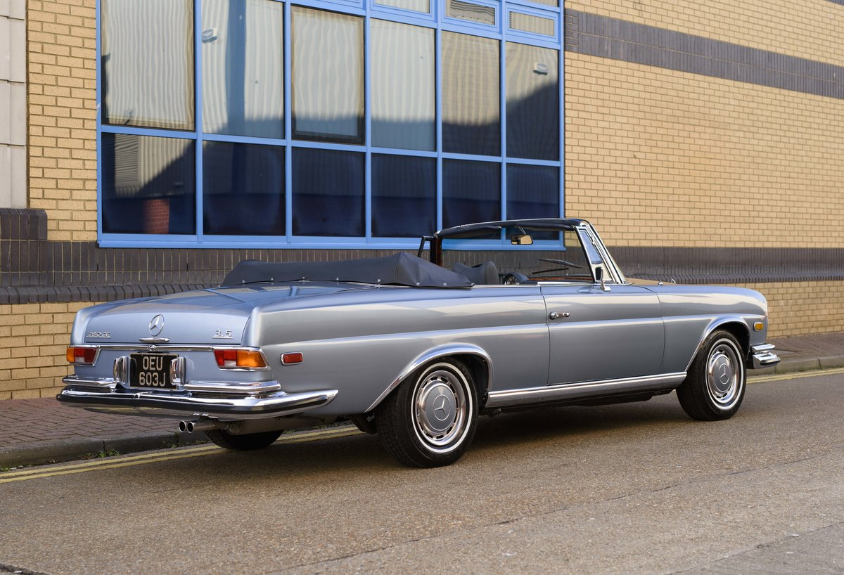 1971 MERCEDES 280SE 3.5 CABRIOLET (LHD) For Sale (picture 3 of 24)