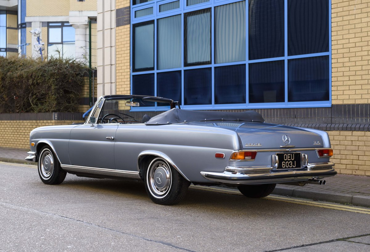 1971 MERCEDES 280SE 3.5 CABRIOLET (LHD) For Sale (picture 4 of 24)