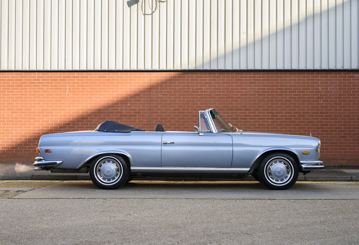 1971 MERCEDES 280SE 3.5 CABRIOLET (LHD) For Sale (picture 5 of 24)