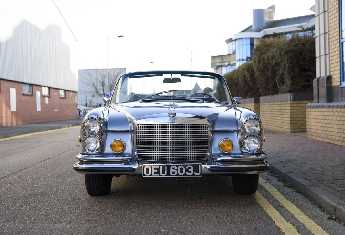 1971 MERCEDES 280SE 3.5 CABRIOLET (LHD) For Sale (picture 7 of 24)