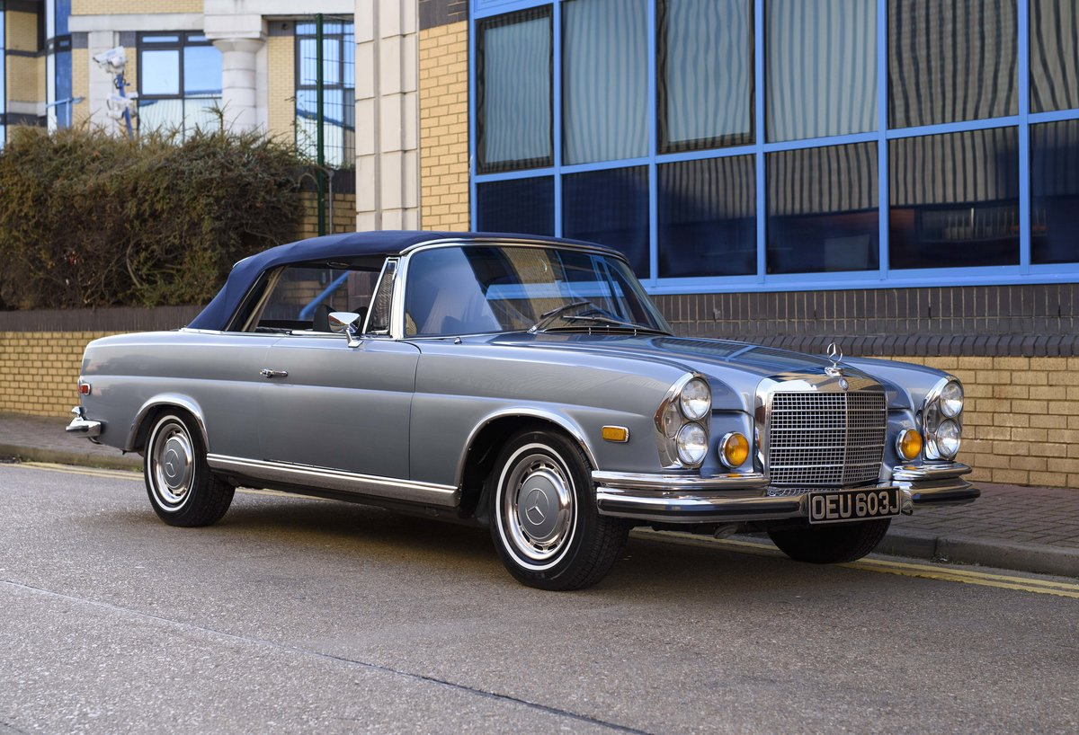 1971 MERCEDES 280SE 3.5 CABRIOLET (LHD) For Sale (picture 9 of 24)