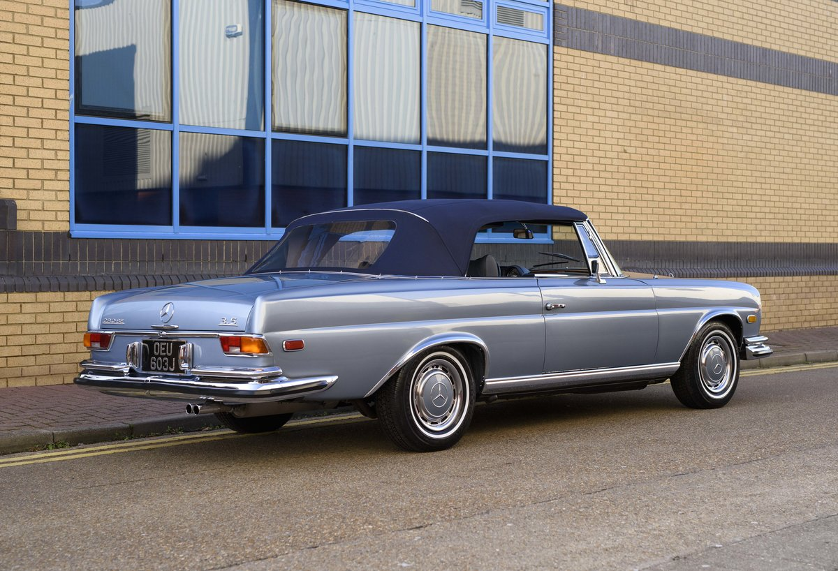 1971 MERCEDES 280SE 3.5 CABRIOLET (LHD) For Sale (picture 10 of 24)