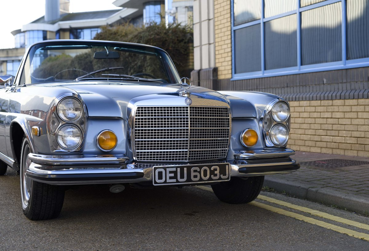 1971 MERCEDES 280SE 3.5 CABRIOLET (LHD) For Sale (picture 11 of 24)