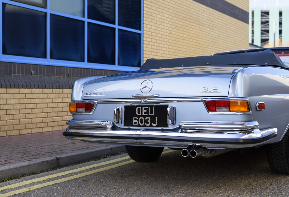 1971 MERCEDES 280SE 3.5 CABRIOLET (LHD) For Sale (picture 16 of 24)
