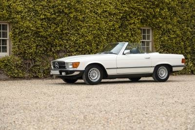 1985 Mercedes-Benz 500 SL For Sale by Auction
