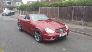 2002 Mercedes slk32 amg supercharged bargain