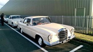 1965 Mercedes 220SEb Coupe