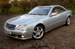2005 Mercedes-Benz 500 CL V8 Coupe