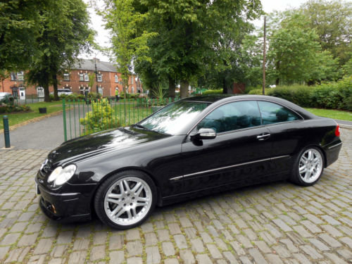 2003 Brabus B11 Mercedes Benz W209 CLK 500 V8 For Sale (picture 2 of 6)