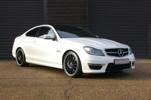 2013 Mercedes-Benz C63 AMG 6.2 V8 Coupe MCT Auto (50,000 miles) SOLD