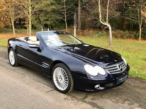 2004 Mercedes Benz SL500 - Top spec, FSH, stunning example For Sale