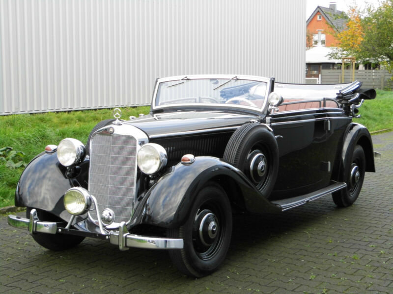 1937 Mercedes benz 230 cabrio b For Sale (picture 5 of 6)