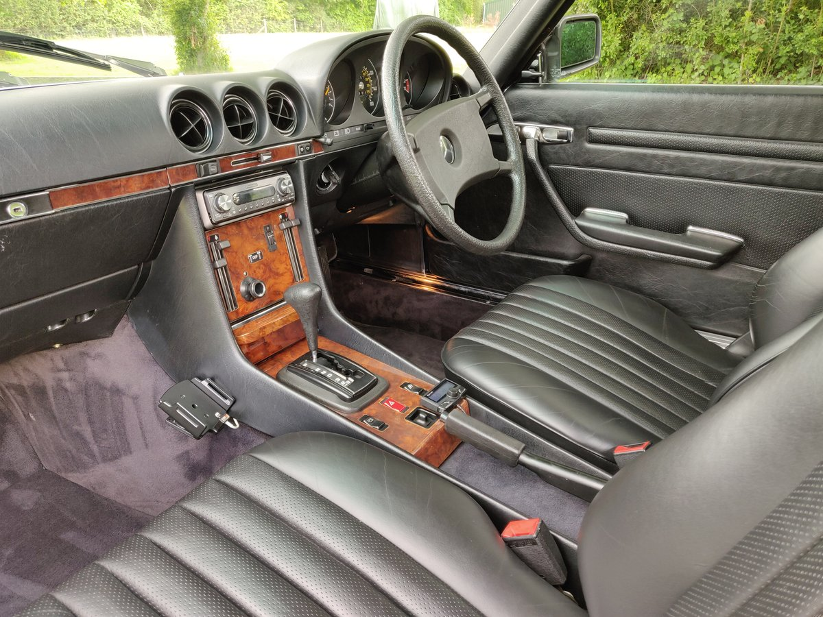 1985 R107 MERCEDES SL 380 V8 For Sale (picture 3 of 6)