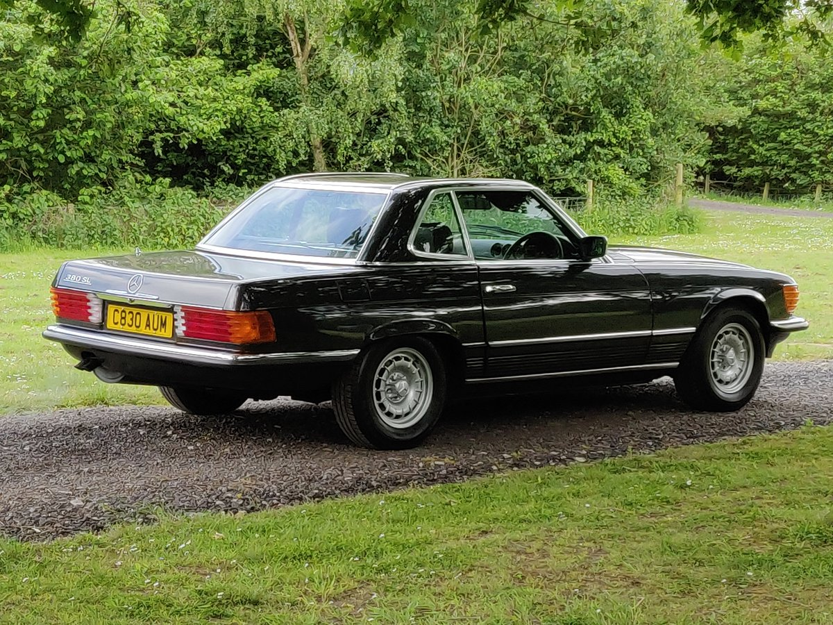 1985 R107 MERCEDES SL 380 V8 For Sale (picture 4 of 6)