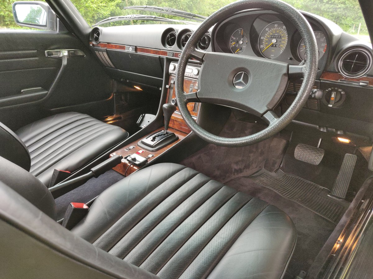1985 R107 MERCEDES SL 380 V8 For Sale (picture 5 of 6)