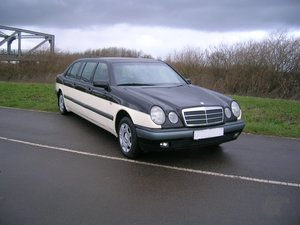 1996 Mercedes Benz E230 Limousine Chauffeur  For Sale