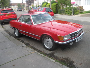 1979 450 SL service history from new VGC UK