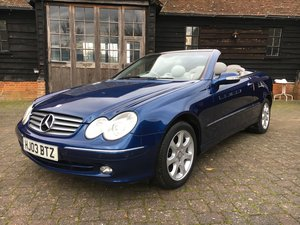 2003 STUNNING LOW MILEAGE MAJOR HISTORY BARONS XMAS AUCTION For Sale