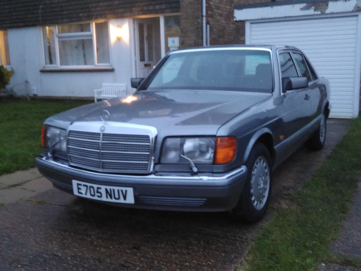1988 Mercedes W126 420SE  For Sale (picture 1 of 6)