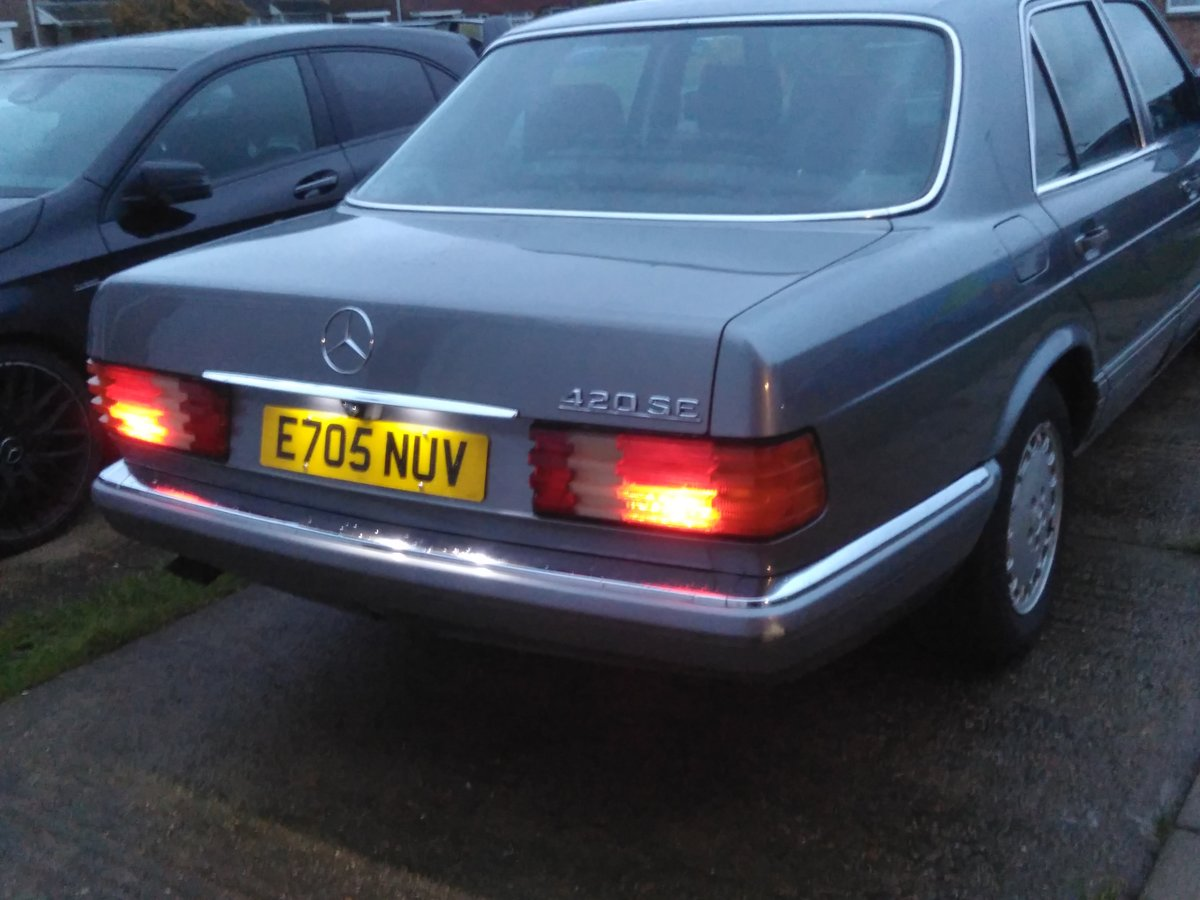 1988 Mercedes W126 420SE  For Sale (picture 2 of 6)