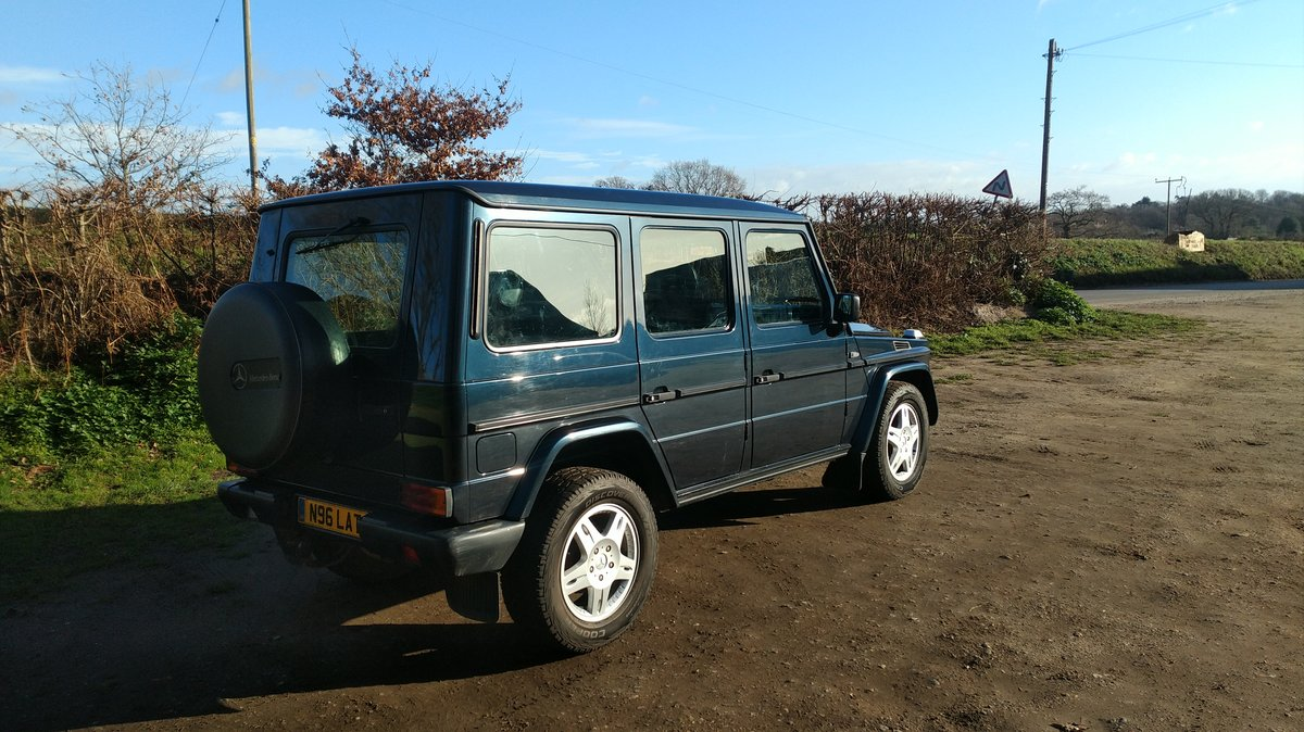 1996 Mercedes G Wagen 5 Door Diesel Automatic (LHD) For Sale (picture 1 of 6)