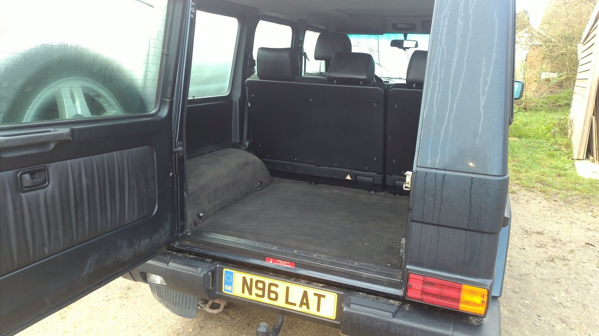 1996 Mercedes G Wagen 5 Door Diesel Automatic (LHD) For Sale (picture 2 of 6)