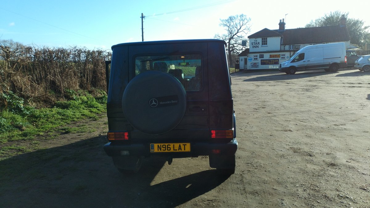 1996 Mercedes G Wagen 5 Door Diesel Automatic (LHD) For Sale (picture 5 of 6)