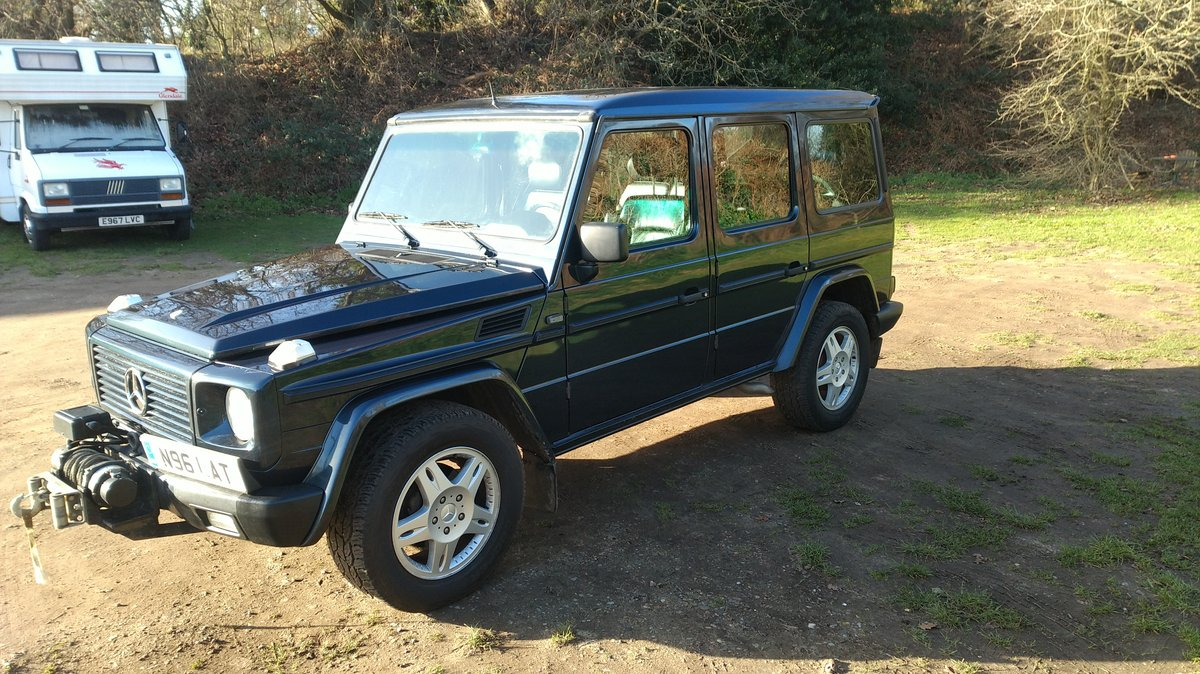 1996 Mercedes G Wagen 5 Door Diesel Automatic (LHD) For Sale (picture 6 of 6)