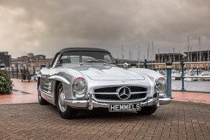 1957 Mercedes-Benz 300 SL Roadster in Silver by Hemmels For Sale